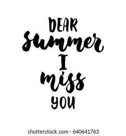 Missing Summer Images, Stock Photos & Vectors | Shutterstock