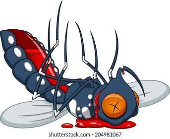 Death mosquito cartoon