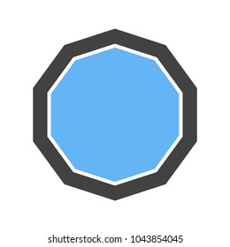 Decagon, design icon