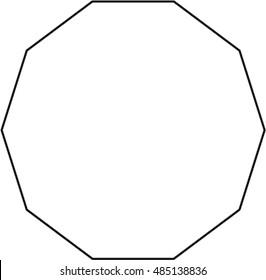 Decagon Pattern