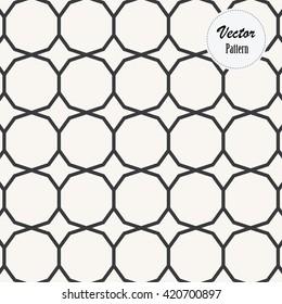 decagon vector pattern