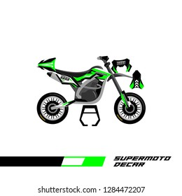 Decal supermoto vector abstract livery designs