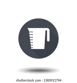 decanted icon. Simple filled decanted vector icon.