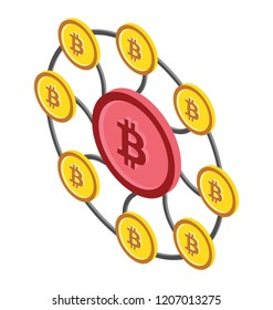Decentralized exchange showing decentralized cryptocurrency