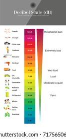 The Decibel Scale sound level