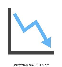 Declining Line Graph