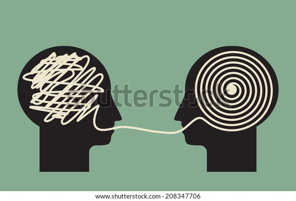 decoding and understanding problem, face to face explanation concept