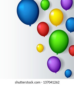 decoration with balloons for you design