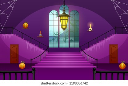 Decoration house of halloween day