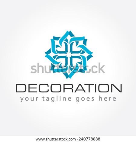 Decoration Logo Interior Decoration Logo Stock Vector Royalty Free