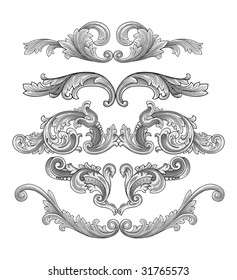 Decoration vector