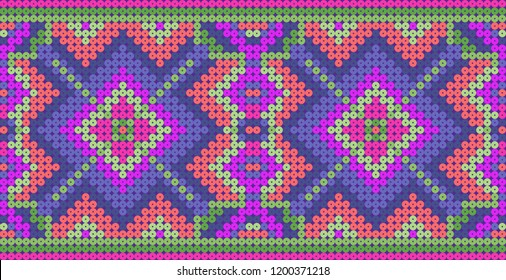 Decorative background with beads