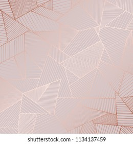 Decorative background with rose gold imitation for invitations and cards design
