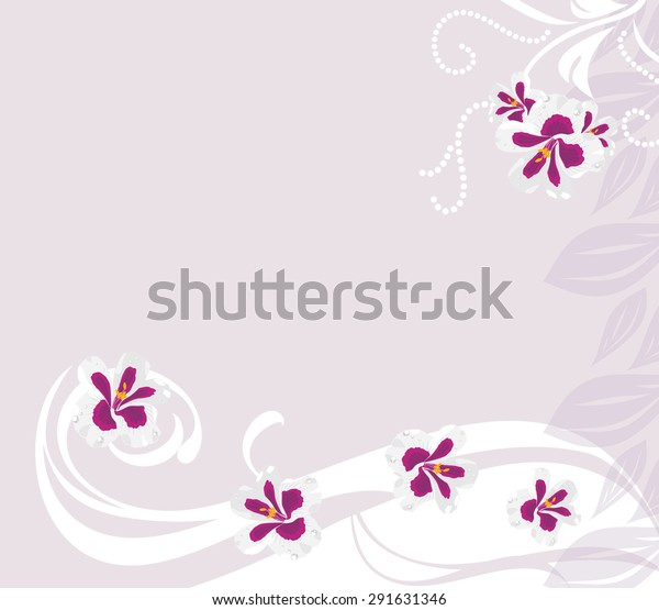 decorative-background-stylized-pelargoni