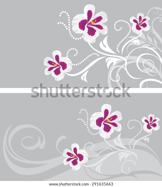 decorative-backgrounds-stylized-pelargon