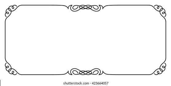 Rectangular Frame Images, Stock Photos & Vectors | Shutterstock