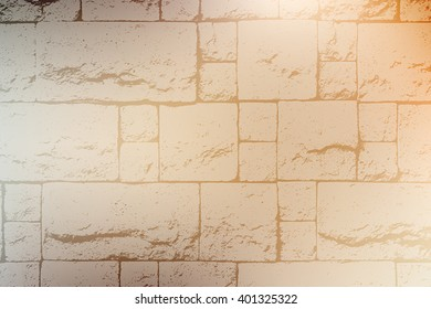 Decorative Brick Wall Color Texture For Your Design. EPS10 vector.