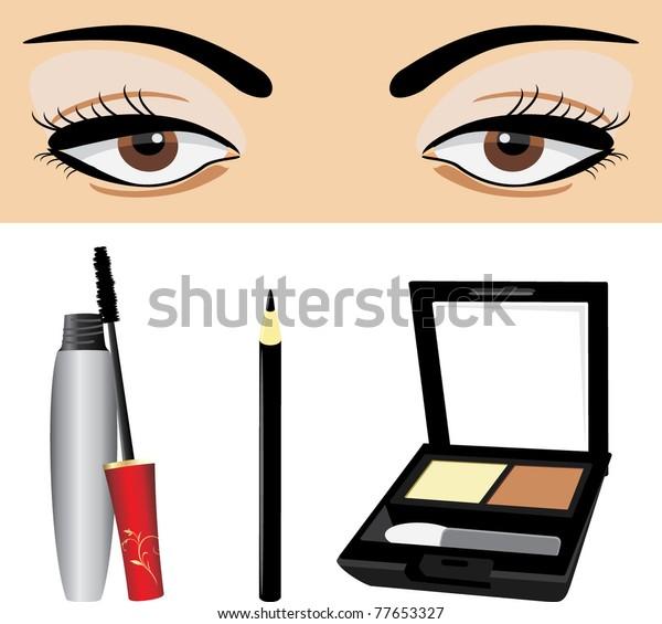 decorative-cosmetic-eyes-vector-600w-776