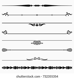 Decorative dividers (set 35)