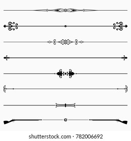 Decorative dividers (set 42)