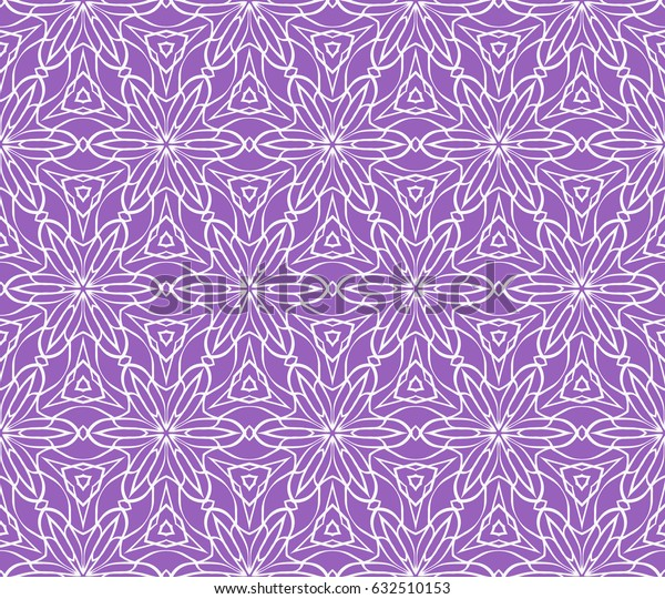 decorative ethnic ornament. Seamless vector illustration. Floral style. For interior design, fabric print, page fill, wallpaper, textile