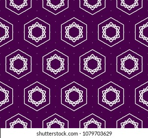 Decorative floral ornament. seamless pattern. vector illustration. Tribal Ethnic Arabic, Indian, motif. for interior design, wallpaper and flower symbol.