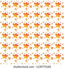 Decorative floral seamless pattern.