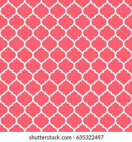 Decorative geometric pattern/ quatrefoil background / vector illustration for fabric textile and wrapping paper designs