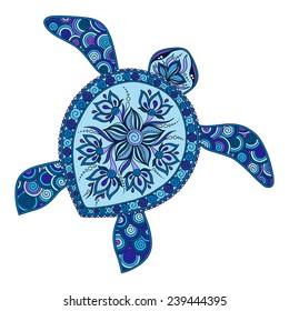 Sea Turtle Tattoo Images, Stock Photos & Vectors | Shutterstock