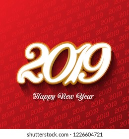 Decorative Happy New Year background