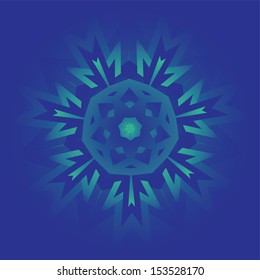 decorative and intricate design in symmetrical patterns