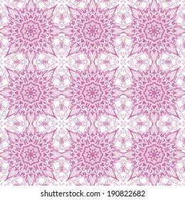 Decorative laced seamless pattern