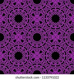 Decorative ornament Mandala. vector illustration. For fashion, print, sticker, icon