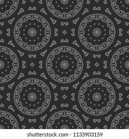 Decorative ornament Mandala. vector illustration. For fashion, print, sticker, icon.
