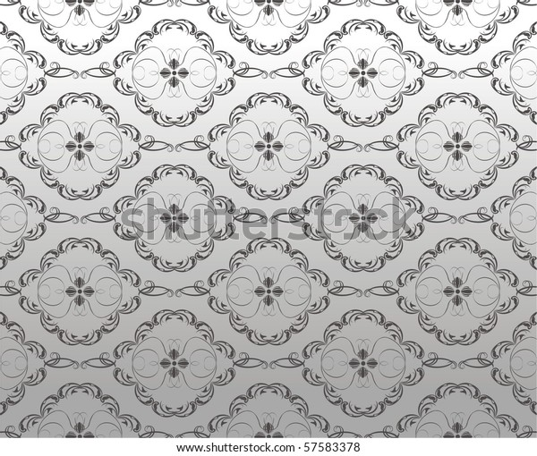 decorative-ornament-on-silver-background