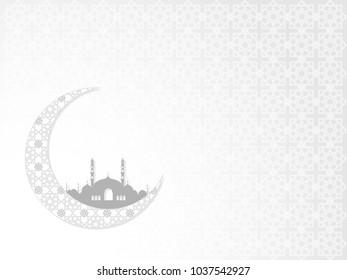 Decorative Ramadan Kareem and Eid vector concept. Illustration of creative islamic graphic design.