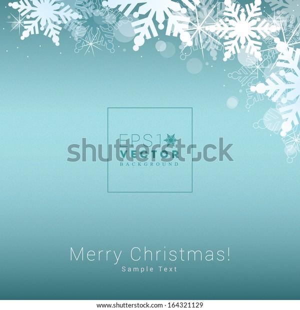 Christmas Backgrounds Free.Decorative Scalable Minimal Christmas Background Snowflakes