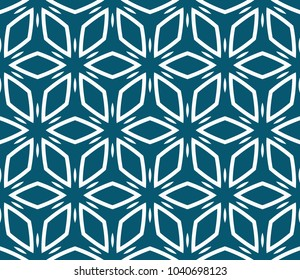 Decorative seamless geometric pattern. Vector illustration.