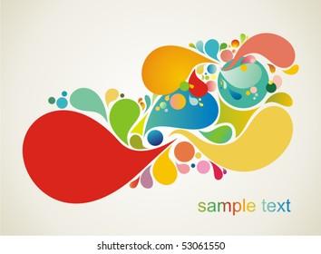 decorative shape illustration