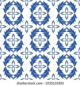 Decorative vector seamless pattern design