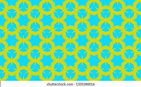 Decorative wallpaper design in shape.Vector abstract background.Modern geometric seamless pattern. for holiday decoration, holiday packaging Vector seamless pattern