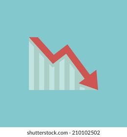 Decrease Flat Icon