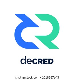 Decred Coin Cryptocurrency Sign