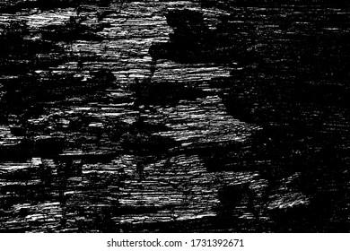 Decrepit medieval beaten backdrop. Coating of coarse split spotted battered background. Old rotten destroyed texture bar. Chipped flaked surface plank, dirty decking material. Coastal drift junk log