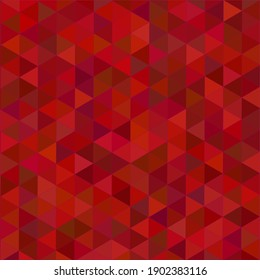 Deep red geometric tiled background. Vector pattern for decoration.