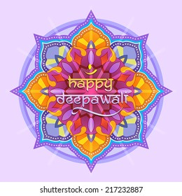 Deepavali graphic design with greeting. come with layers.