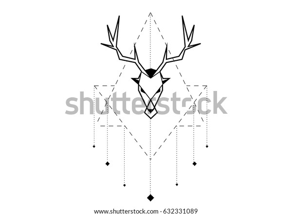 Deer in abstraction