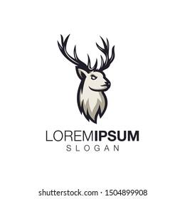 deer collection logo design vector