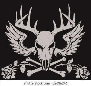 Deer Crossbones