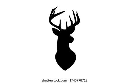 Deer Head Icon Logo vector image